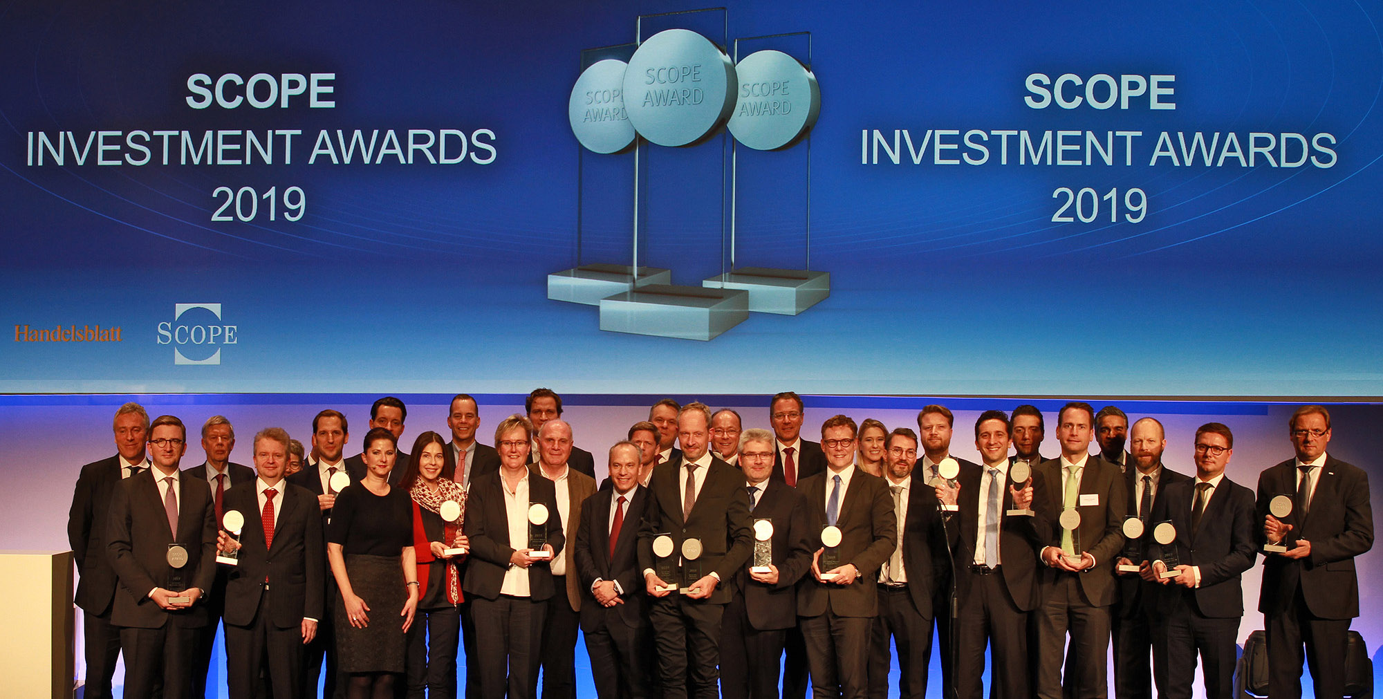 Winners 2019 Scope Investment Awards